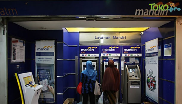 atm bank mandiri - m.tempo.co
