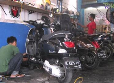 Alamat Dealer Resmi & Bengkel Vespa di Jakarta